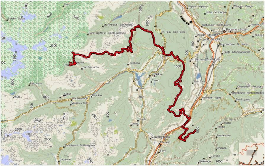 Cartina Di Trentino Alto Adige.Va Sentiero Capitolo 6 Le Straordinarie Montagne Del Trentino Alto Adige 16 Di 16 Touring Club
