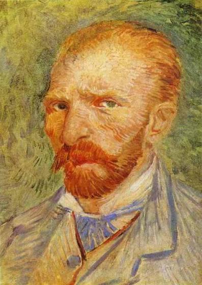 Vincent van Gogh , Autoritratto,