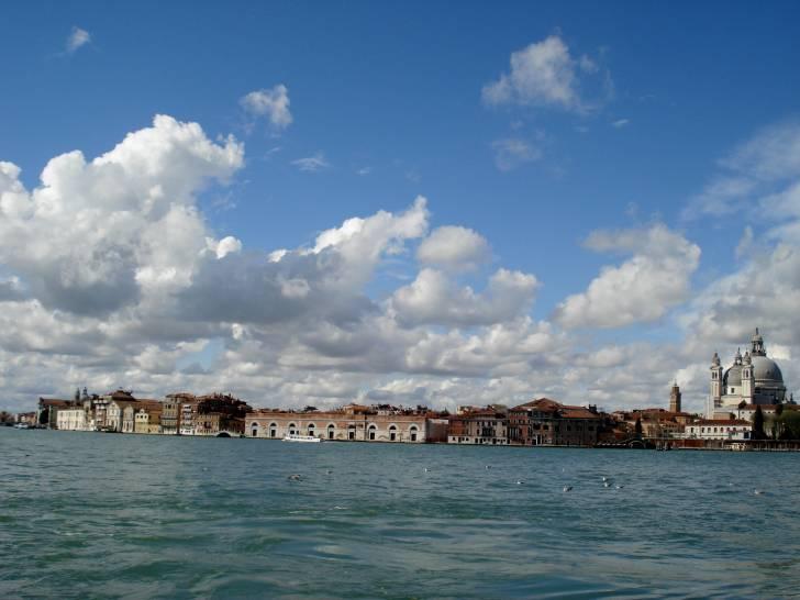 temporali primaverili in arrivo a Venezia