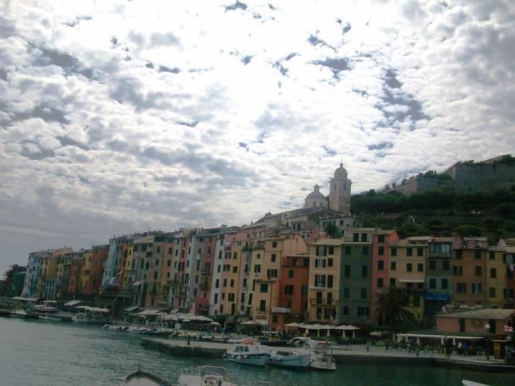 Nuvole su Porto Venere (La Spezia)