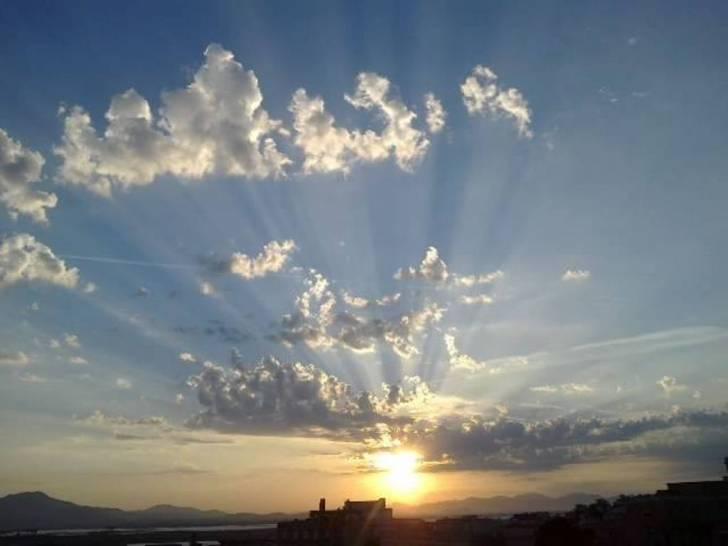 Tramonto su Cagliari..