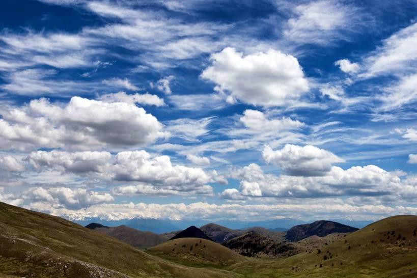 Le nuvole del Gran Sasso