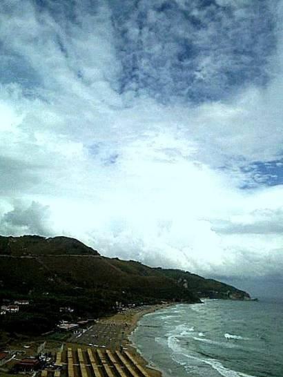 Nuvole d'estate.