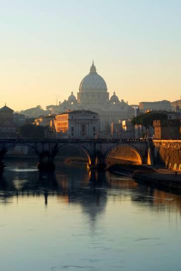 Fine pomeriggio a Roma