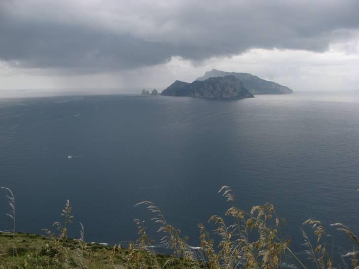 Temporale su Capri