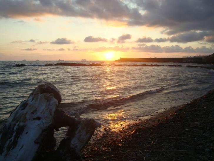 Vento tiepido al tramonto.