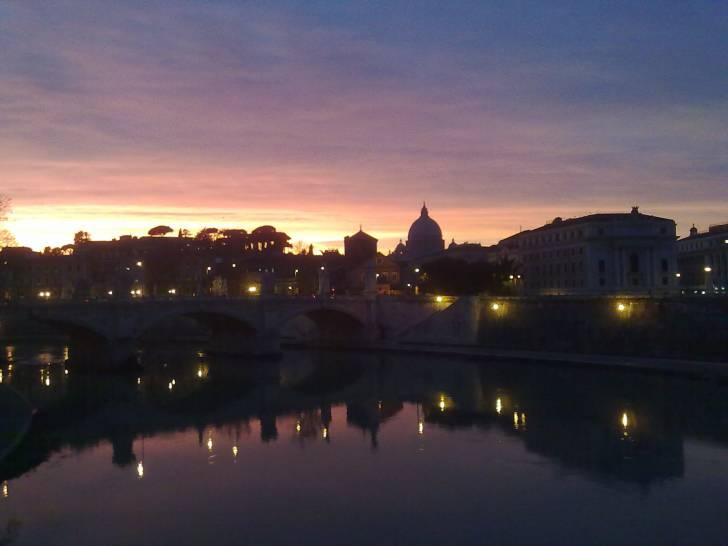 La Grande Bellezza … Roma, d'inverno, all'imbrunire.