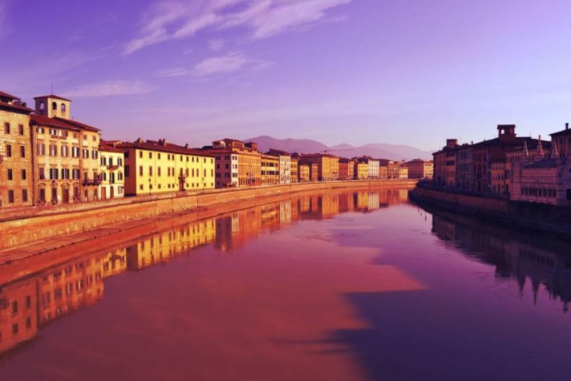 Il cielo su Pisa