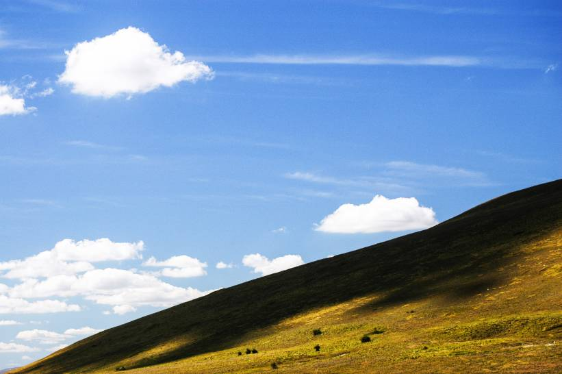 Il cielo sui monti Sibillini