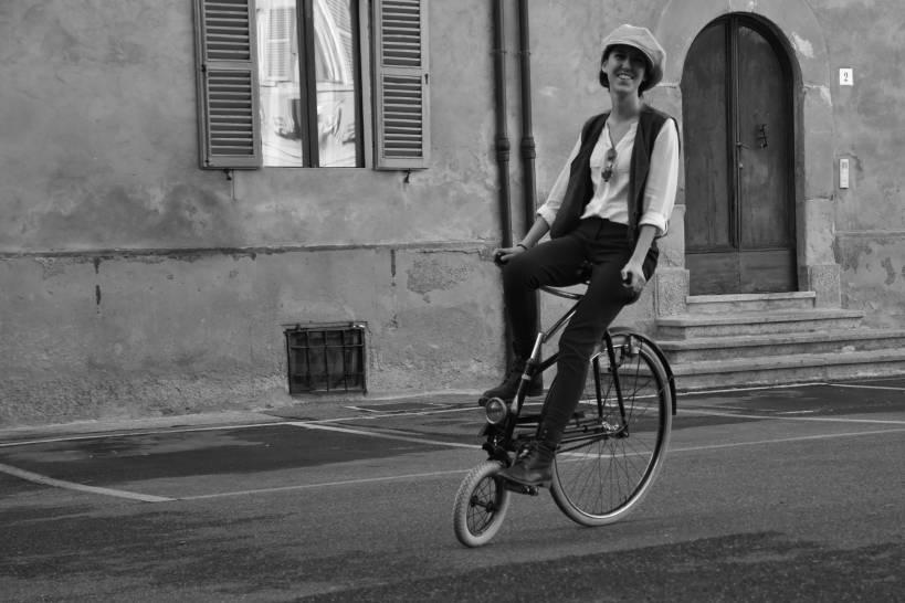 Un giro con la bici del nonno