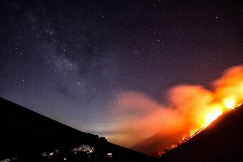 Dove il fuoco tocca il cielo