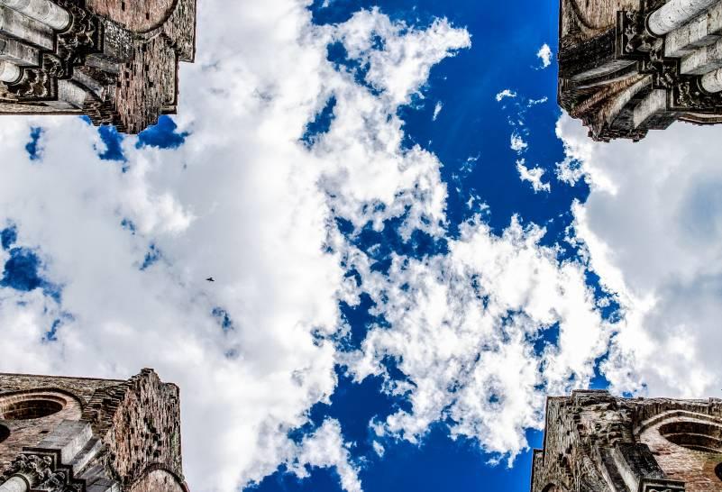 La croce in cielo