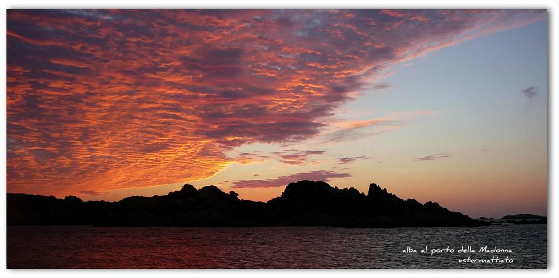 alba al porto della Madonna