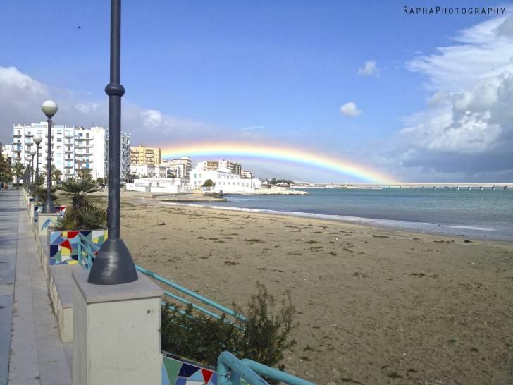 Manfredonia cielo colorato