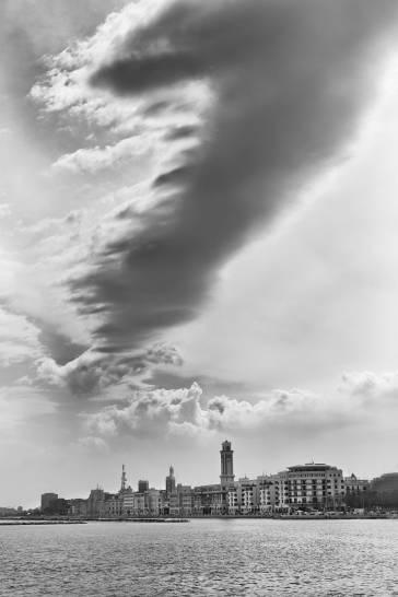 Bari, tra cielo e mare