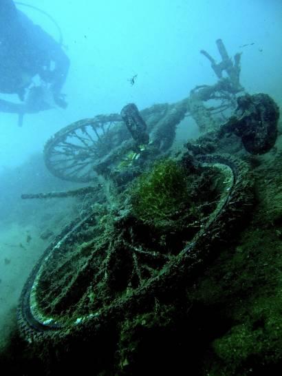 Wheels in the deep