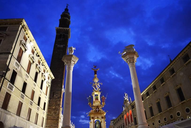 Una sera a Vicenza