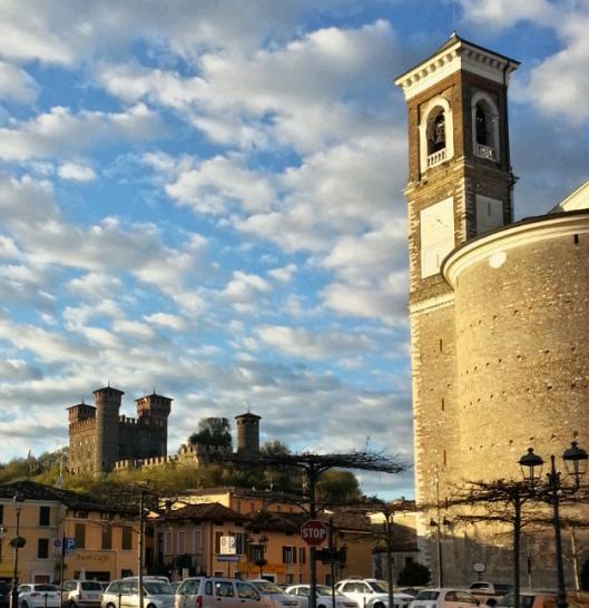 Cielo a pecorelle sopra Montichiari (Bs)