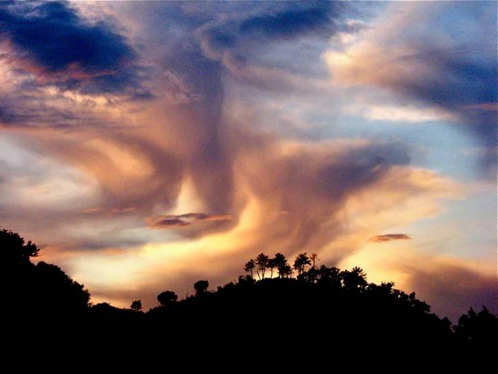 Il cielo sopra l'Entella