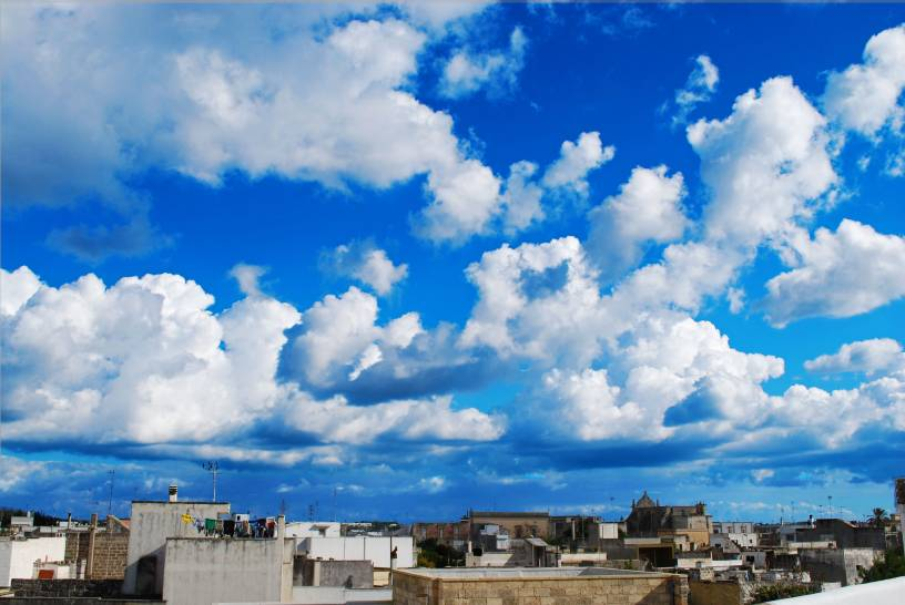 Cielo su Ortelle (LE)