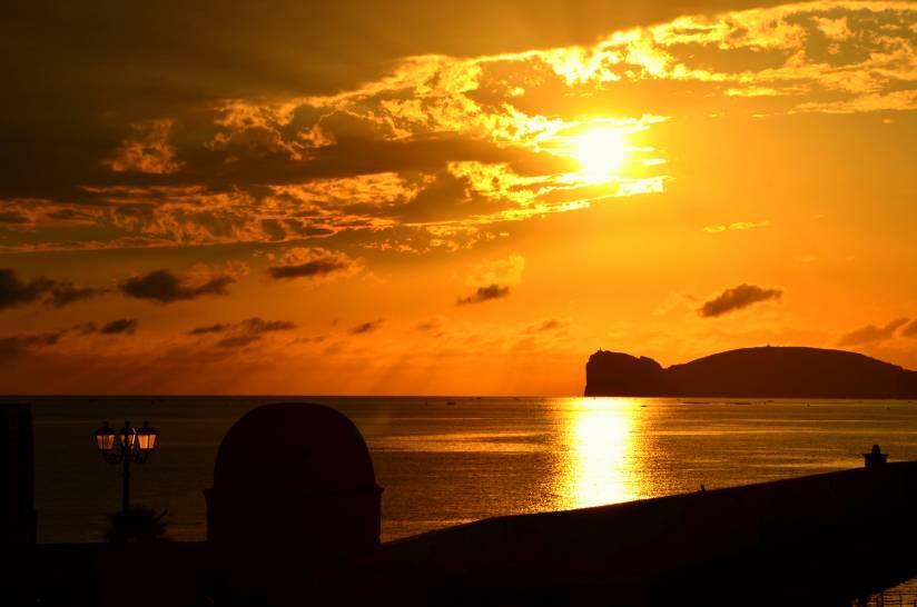 Luci ed ombre di un tramonto
