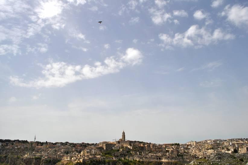 il Falco Grillaio e i Sassi di Matera