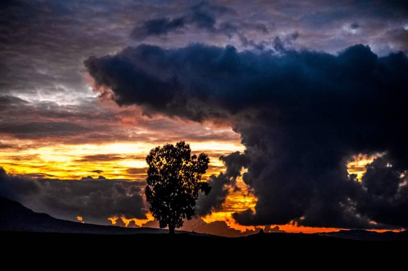 Il cielo della Sicilia
