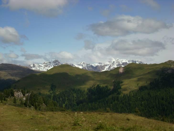 Nubi sui monti trentini