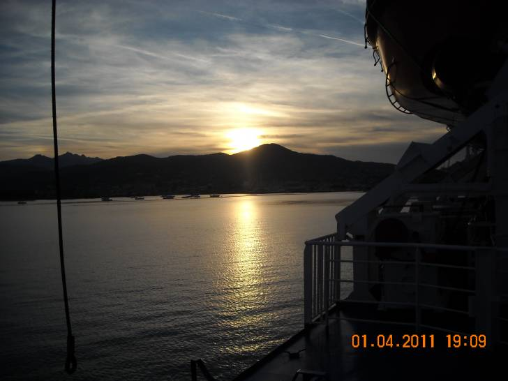 Tramonto all'Elba