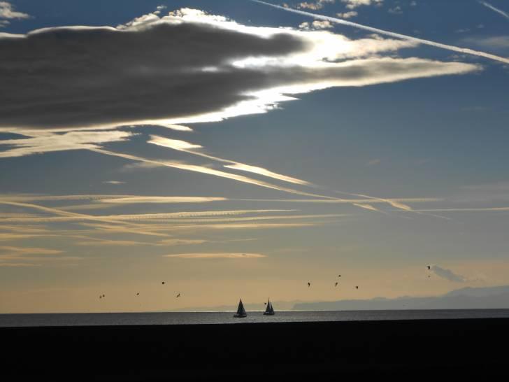 Il cielo sulla Genova