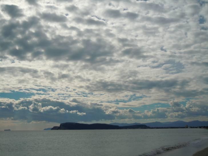 Nuvole su Cagliari