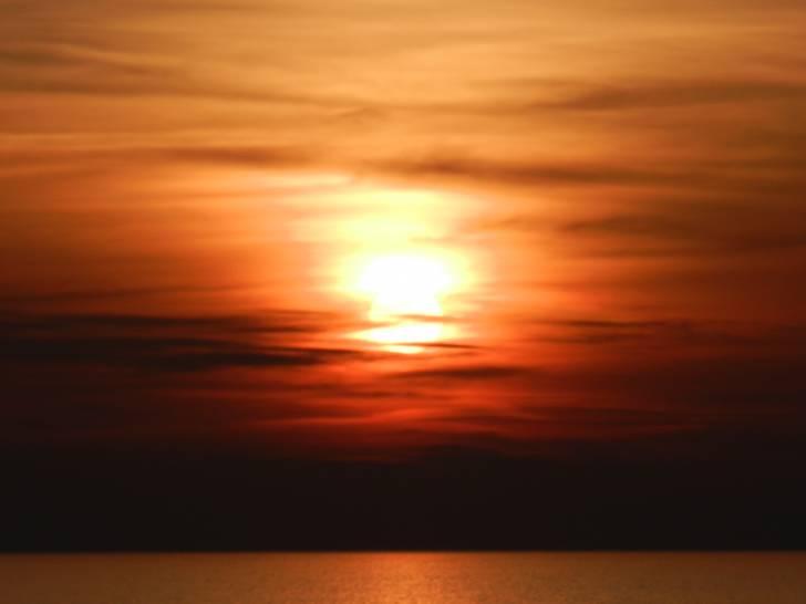 L'addio del sole