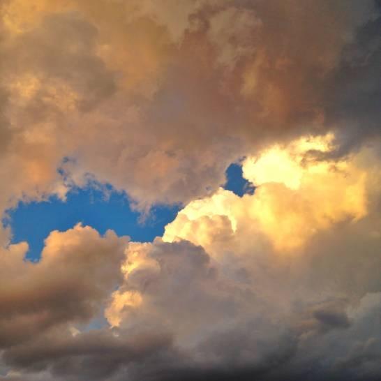 Il cielo era così infinito.