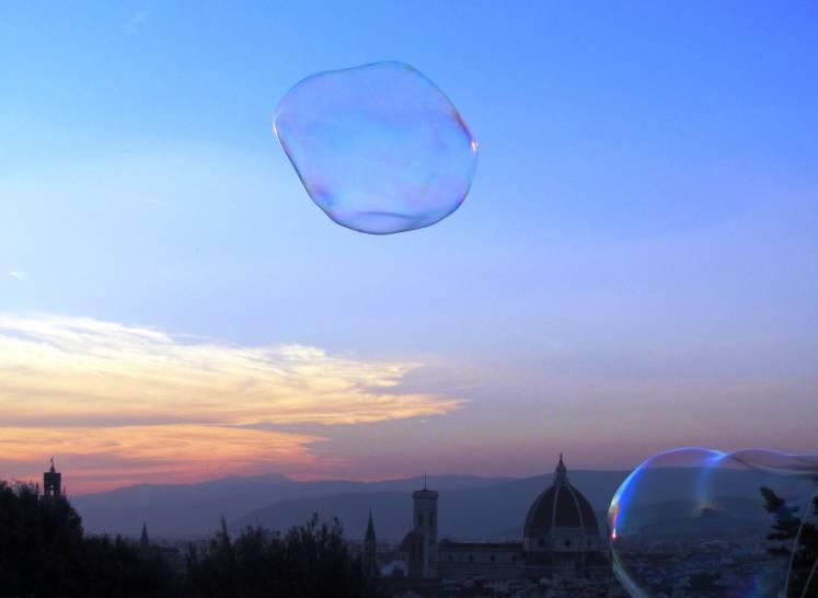 Firenze in una bolla...