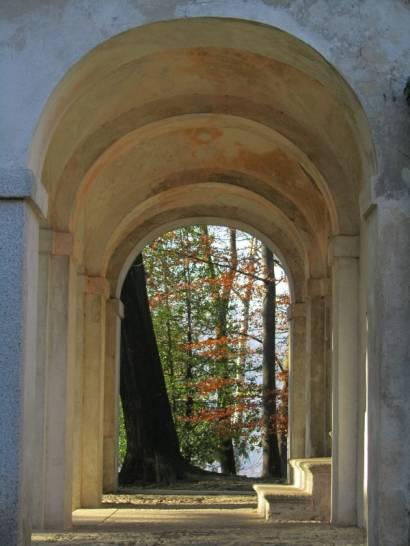Scorci di cielo ad effetto rinascimentale al Sacro Monte di Orta San Giulio