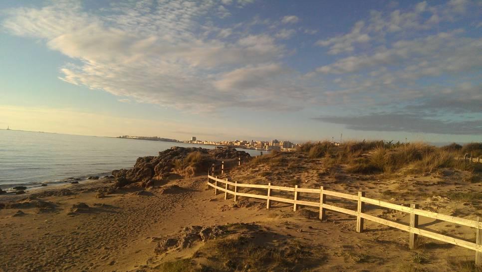gennaio in spiaggia