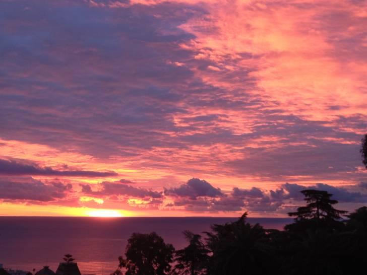 Cielo e mare al tramonto - Sanremo