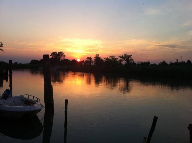 Caorle (VE) - Sunset from the Lagoon