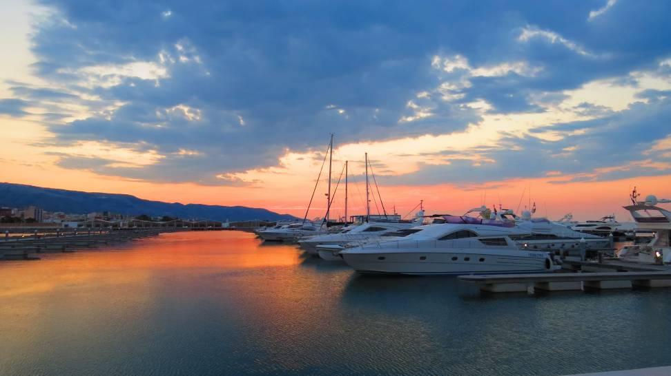 Alba in Marina del Gargano - Manfredonia