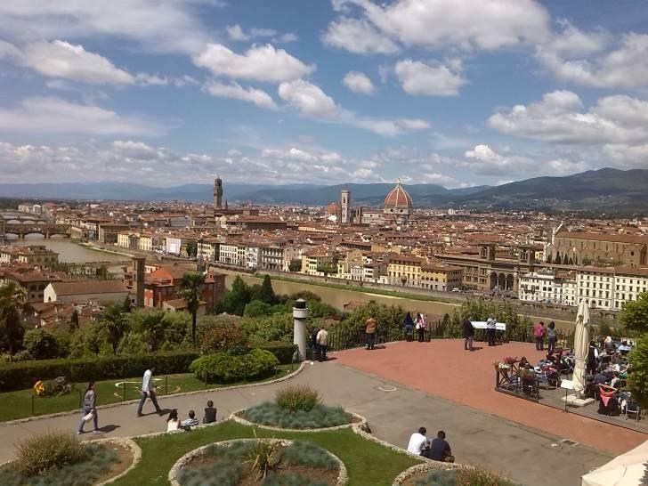 Cielo su Firenze