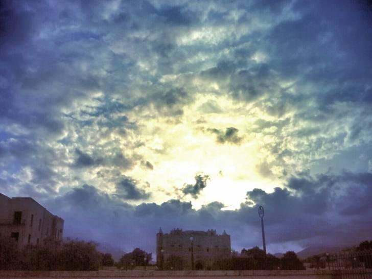 Il cielo sopra la Zisa