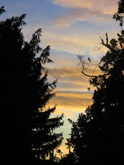 Squarcio di cielo infuocato