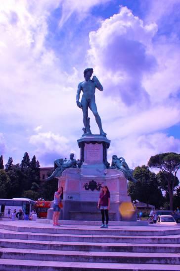 Firenze il cielo sopra il david