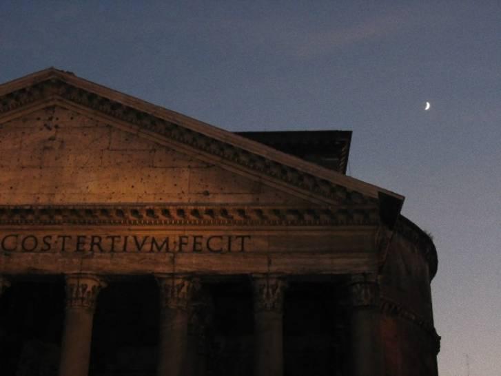 Tramonto sul Pantheon