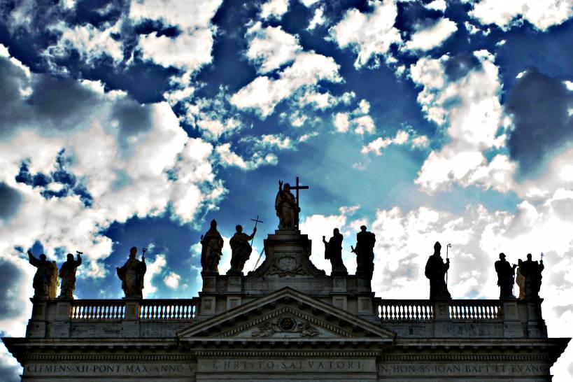 nuvolette a San Giovanni