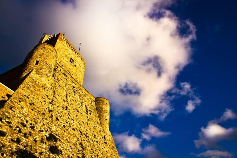 Col naso all'insù (Castello di Termoli)