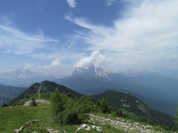 Sulle Dolomiti ad un passo da cielo