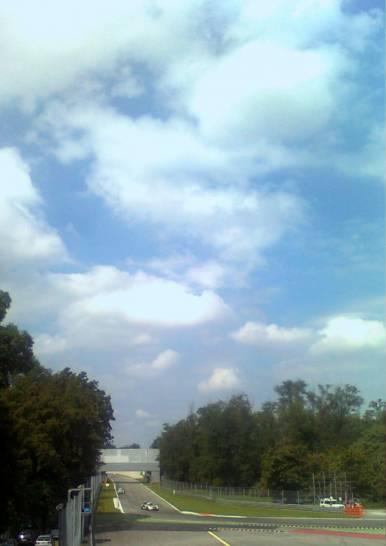 Il cielo sopra Monza