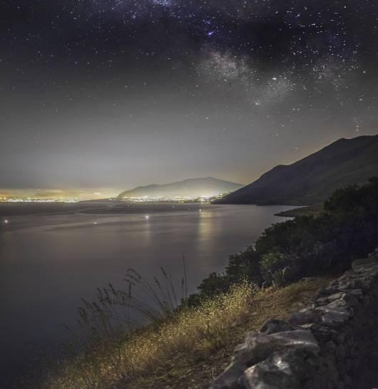 La Via Lattea Sud vista dalla Riserva dello Zingaro