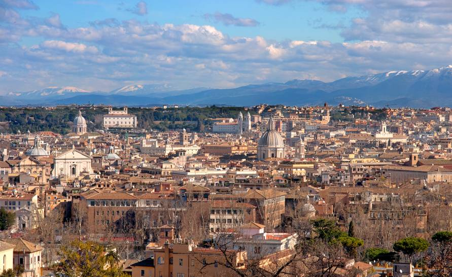 Nuvole su Roma